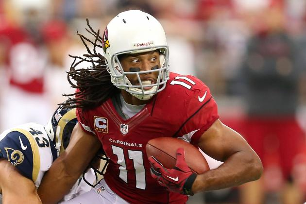 Larry Fitzgerald on Cardinals Offense: You Gotta Laugh to Keep from Crying