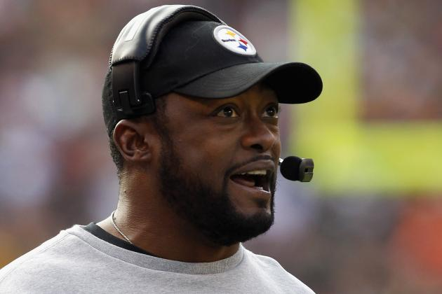 John Harbaugh, Mike Tomlin Share Awkward Handshake After Steelers Beat Ravens