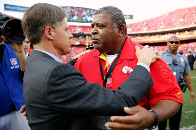 Crennel the Perfect Man to Handle Unthinkable Situation and Other AFC West News