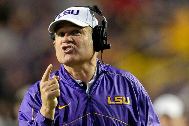 LSU Coach Les Miles Is Happy to Be 'Wanted' by the Chick-Fil-A Bowl
