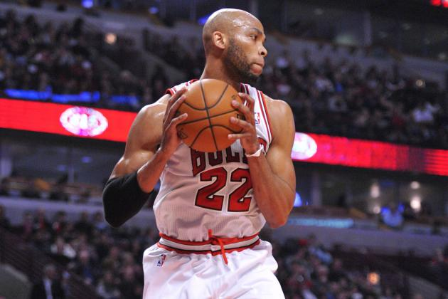 Defensive Skills Make Bulls' Taj Gibson, Jimmy Butler Best Bets Off Bench