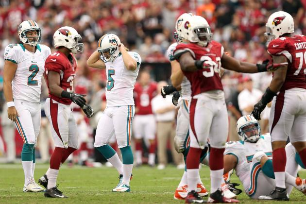 Miami Dolphins: Are the 'Fins Done with Dan Carpenter?