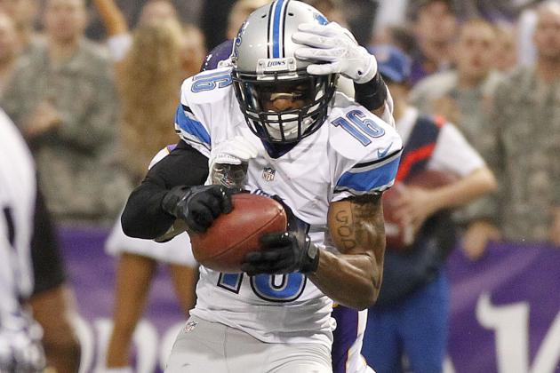 Titus Young Sent Home, Won't Replace Broyles