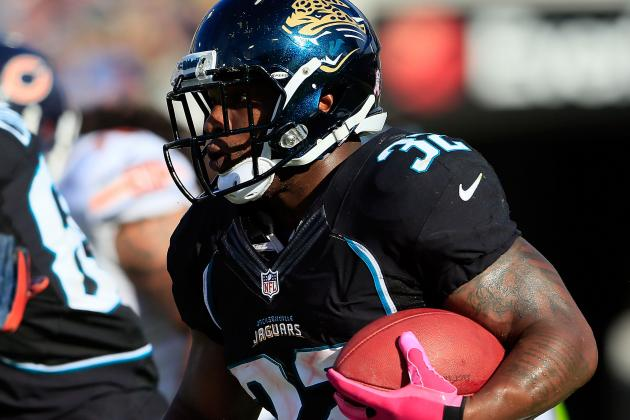 Jaguars Describe Maurice Jones-Drew as 'Very Questionable'