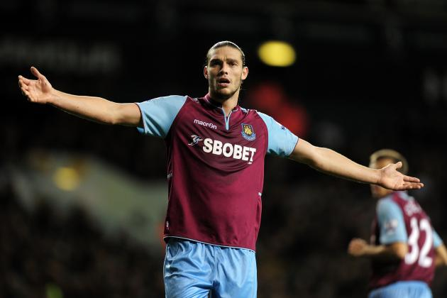 Injured On-Loan Liverpool FC Striker Andy Carroll to Remain at West Ham