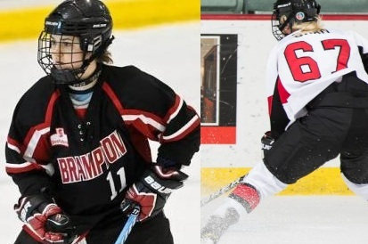 Mercyhurst Teammates Bram and Bendus Reunite to Lead CWHL in Scoring