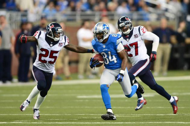 Breaking Down What Loss of Ryan Broyles, Titus Young Means for Lions Receivers