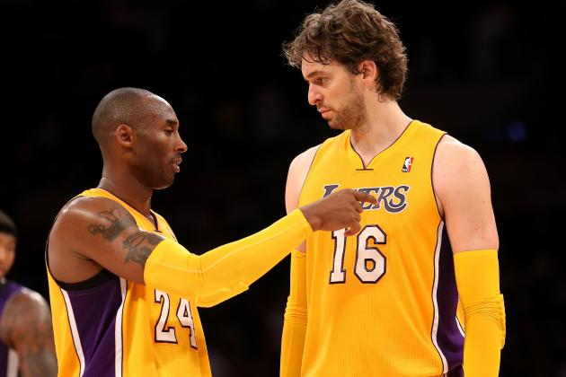 Lakers News: Kobe Bryant Shows Leadership by Calling out Pau Gasol