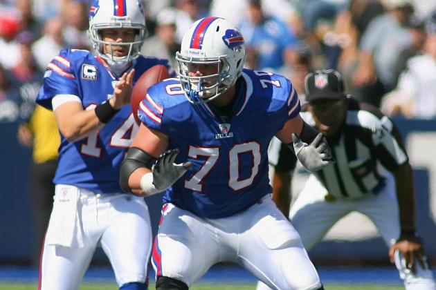 Eric Wood out with Knee Injury Suffered in Buffalo's Win over Jacksonville