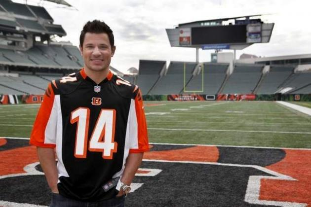 Nick Lachey's Trash Talking Gets Pop Star Booted from Bengals vs. Chargers Game