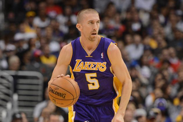 Steve Blake's Injury Means LA Lakers Need Healthy Steve Nash Now More Than Ever