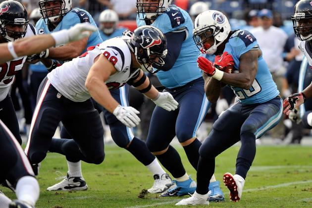 Texans vs. Titans Take 2: Houston Lowers the Boom on Jake Locker