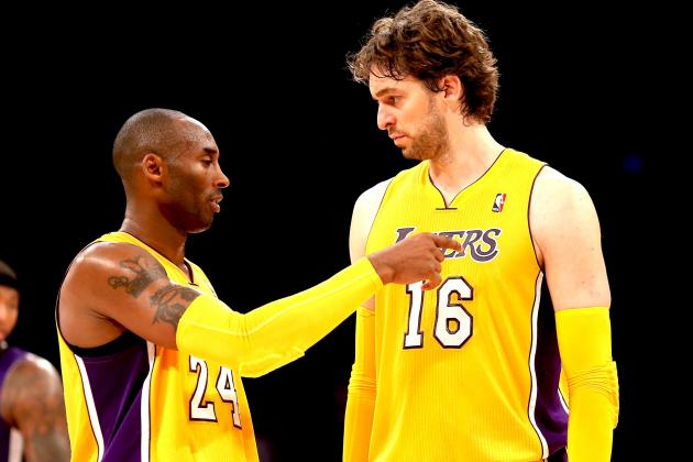 Kobe Bryant Calling out Pau Gasol Won't Solve Spaniard's Energy Issues