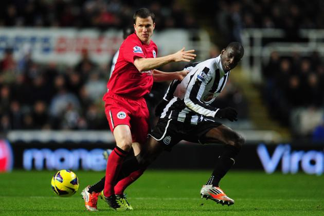 Demba Ba and Newcastle the Beneficiaries as Wigan See Red
