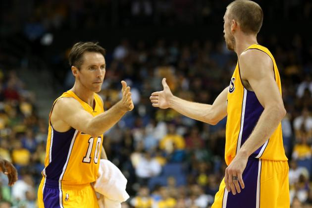 LA Lakers Officially All-in on Steve Nash After Steve Blake Injury