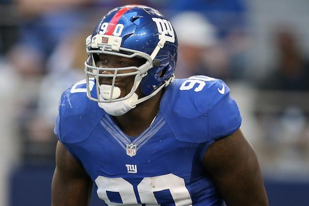 Pierre-Paul and Kenny Phillips Will Play vs. Redskins