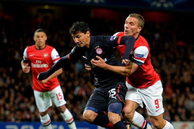 Olympiakos vs. Arsenal: Champions League Live Score, Highlights, Recap
