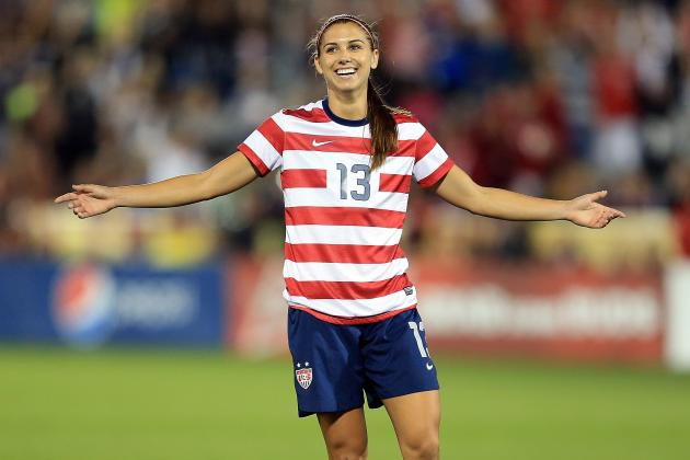 Alex Morgan Chosen as Athlete of the Year by US Soccer