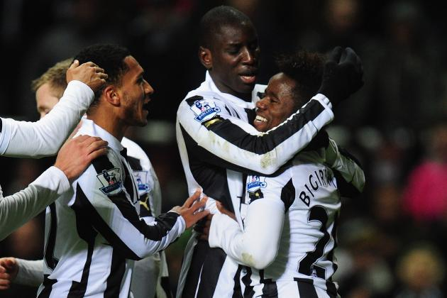 Newcastle United: Demba Ba Double, Early Penalty Send Magpies Past Wigan