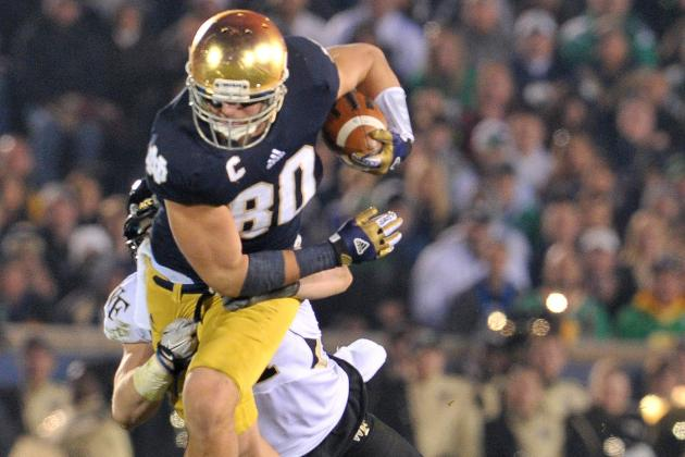 2013 NFL Draft: Full Scouting Report for Notre Dame TE Tyler Eifert