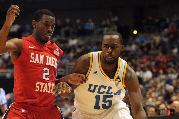 Bruins Fall to Aztecs, 78-69, at John R. Wooden Classic