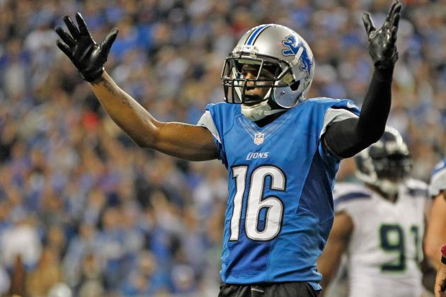 Titus Young: Teams That Should Take a Chance on Troubled WR If Lions Let Him Go