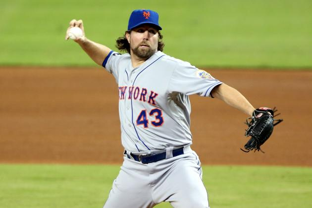 Red Sox Trade Rumors: Team Should Think Carefully About Pursuit of R.A. Dickey