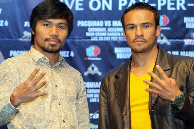 Manny Pacquiao vs Juan Manuel Marquez: Official B/R Boxing Community Predictions