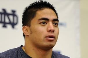 Notre Dame Linebacker Manti Te'o Wins Bronko Nagurski Award