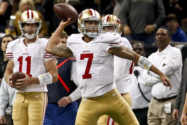 Colin Kaepernick vs. Alex Smith: Re-Visiting 49ers QB Situation After Week 13