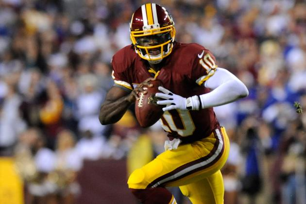 RGIII Breaks Cam Newton's QB Rookie Rushing Record
