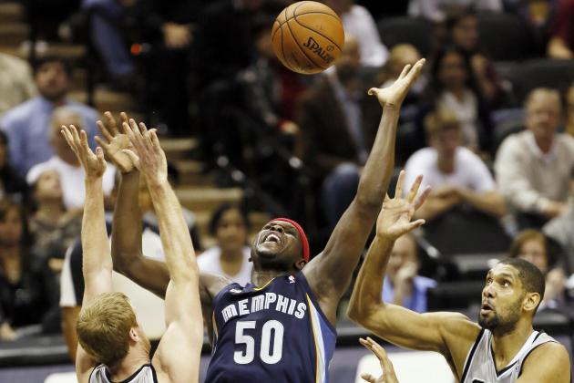 Zach Randolph Remains Biggest X-Factor for Memphis Grizzlies' Contender Status