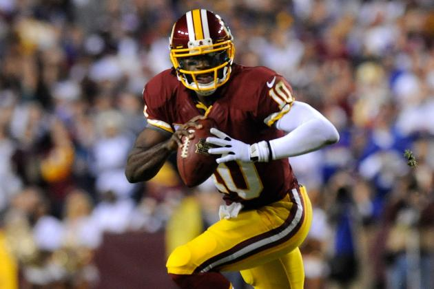 Robert Griffin III Breaks Cam Newton's Rookie Rushing-Yards Record in Week 13