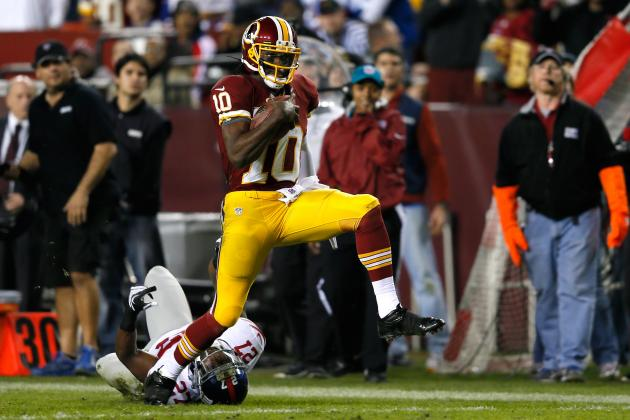 Robert Griffin III: Redskins Have the Look of a Dangerous Playoff Team