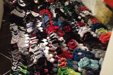 A Photo Essay of Jarrett Jack's Absurd Basketball Shoe Collection