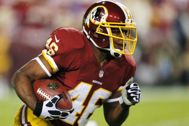 Alfred Morris Surpasses 1,000-Yard Rushing Mark