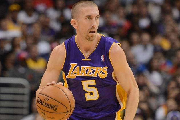 Steve Blake's Extended Absence Points out Lakers' Lack of Depth