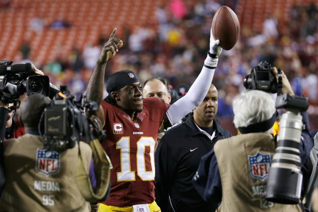 RGIII vs Andrew Luck: Who Is the Rookie of the Year Heading into Week 14?
