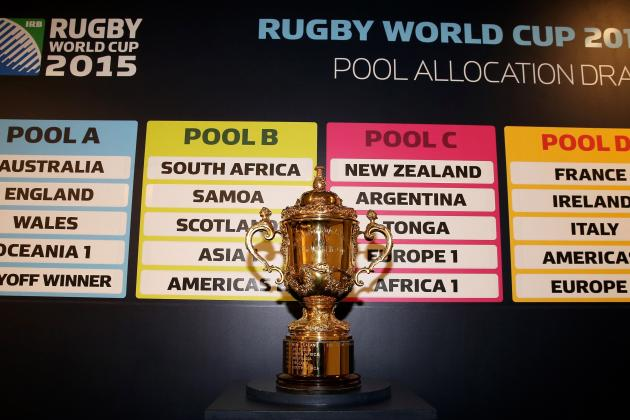 Rugby World Cup 2015: Australia, England, Wales Drawn into Pool of Death