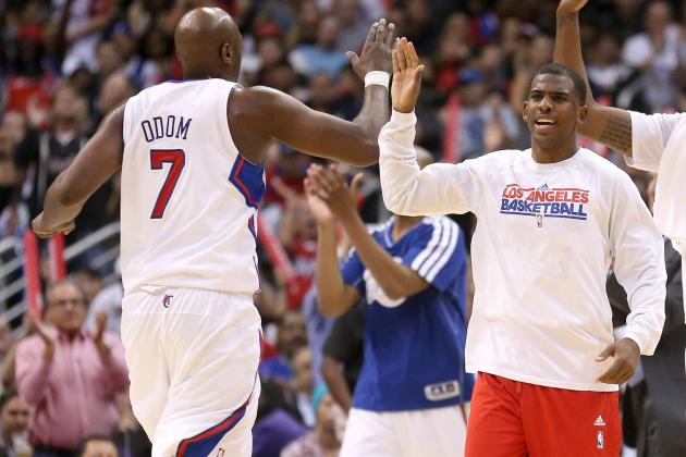 Clippers' Lamar Odom Begins to Earn the Trust