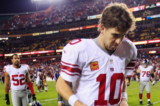 Updated Playoff Odds, Outlook for New York Giants After Loss to Redskins