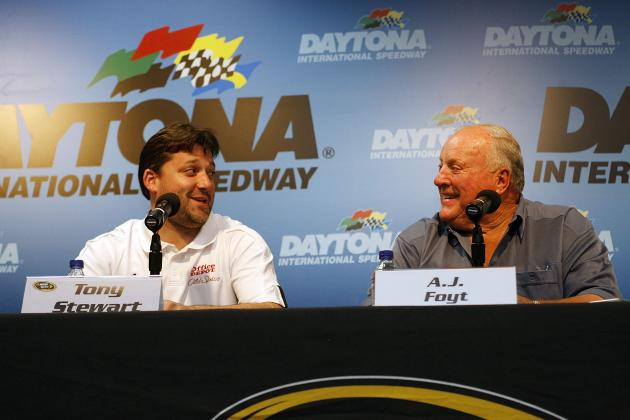 How to Convince Tony Stewart to 'Double' Indy 500 and Coca-Cola 600: A.J. Foyt