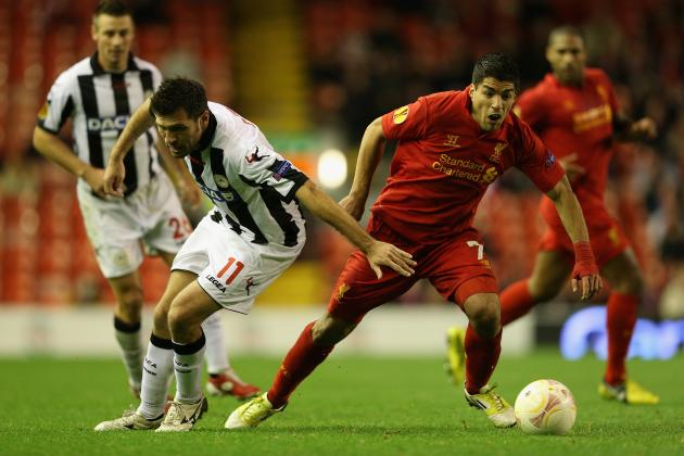 Udinese vs. Liverpool: Europa League Preview, Team News and Projected Lineups
