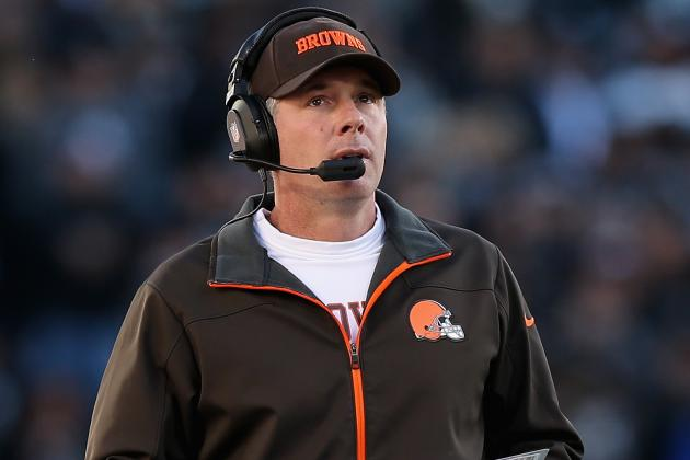 Pat Shurmur Testy over Cleveland Browns Future