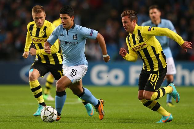 Dortmund vs. Manchester City: Date, Time, Live Stream, TV Info and Preview