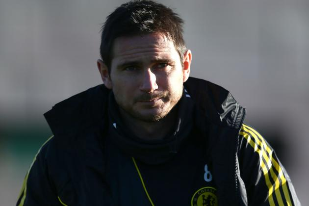Frank Lampard Has Returned to Training with Chelsea After His Calf Problems