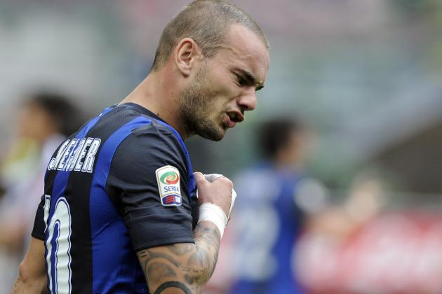 Moratti Wants Sneijder to Play on