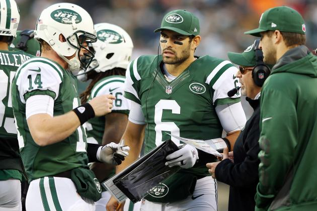 Jets Brass Reportedly Conflicted on Starting Mark Sanchez or Greg McElroy