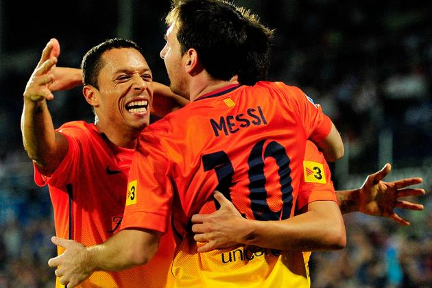 Adriano Keen to Help Messi