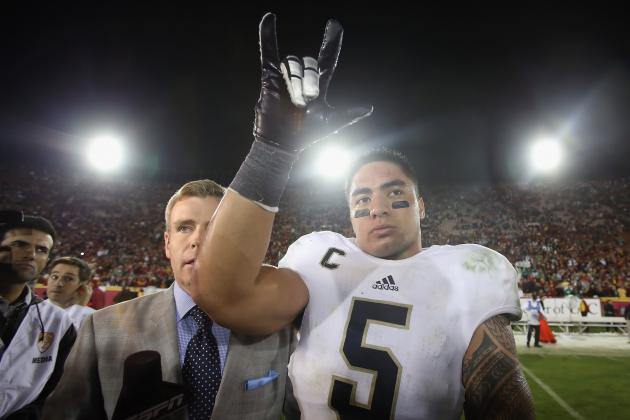 Notre Dame Linebacker Manti Te'o Deserves the 2012 Heisman Trophy